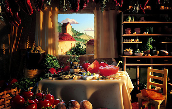 Carl Warner Photographer - Food Landscapes - Foodscapes work