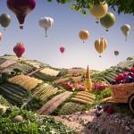Carl Warner Photographer - Food Landscapes - Foodscapes work