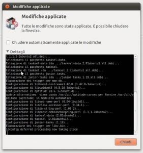"""Come attivare la voce """"Seleziona per Attività"""" per installare LAMP su Ubuntu"""