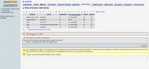 Creare un database mysql con PhpMyAdmin