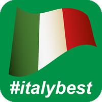 Logo #italybest Hashtag